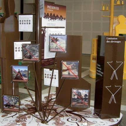 EXPOSITIONS SUR LE PARC NATIONAL DES PYRENEES ET LES BOUQUETINS