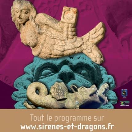 SIRENES ET DRAGONS, LE SURPRENANT PATRIMOINE DE LANDERNEAU